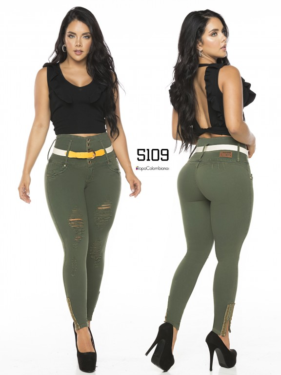 Colombian Butt lifting Jean - Ref. 119 -5109-S