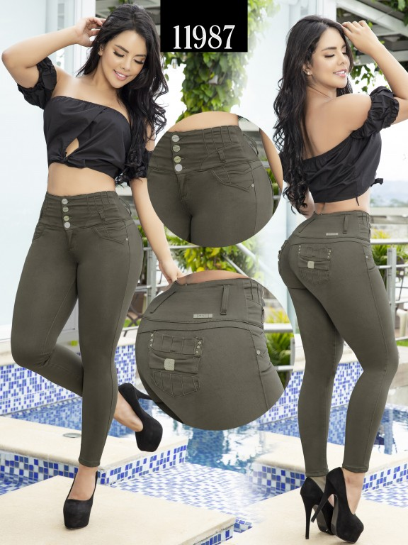 Jeans Colombiano Cheviotto - Ref. 101 -11987