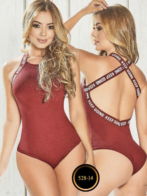 Body Colombiano - Ref. 268 -528-14 Vinotinto