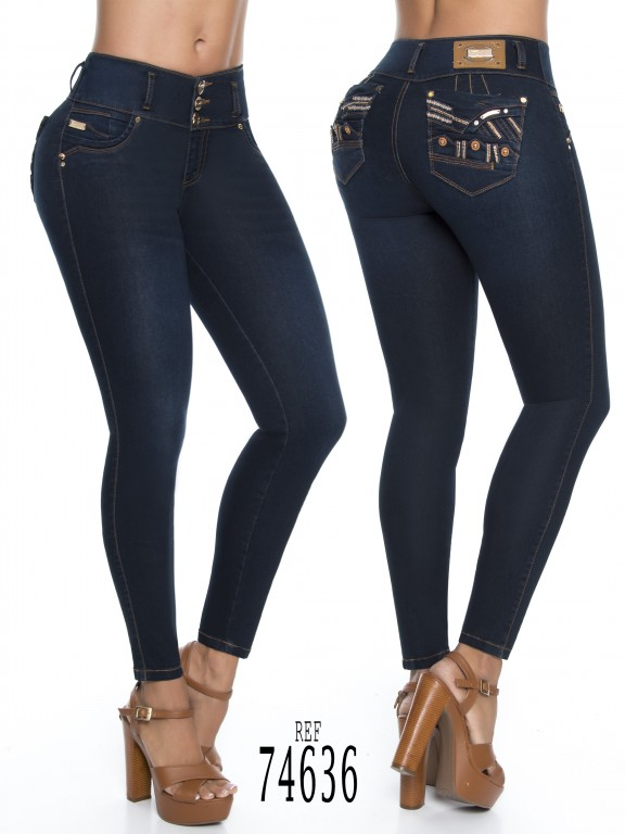 Jeans Colombiano - Ref. 248 -74636-D
