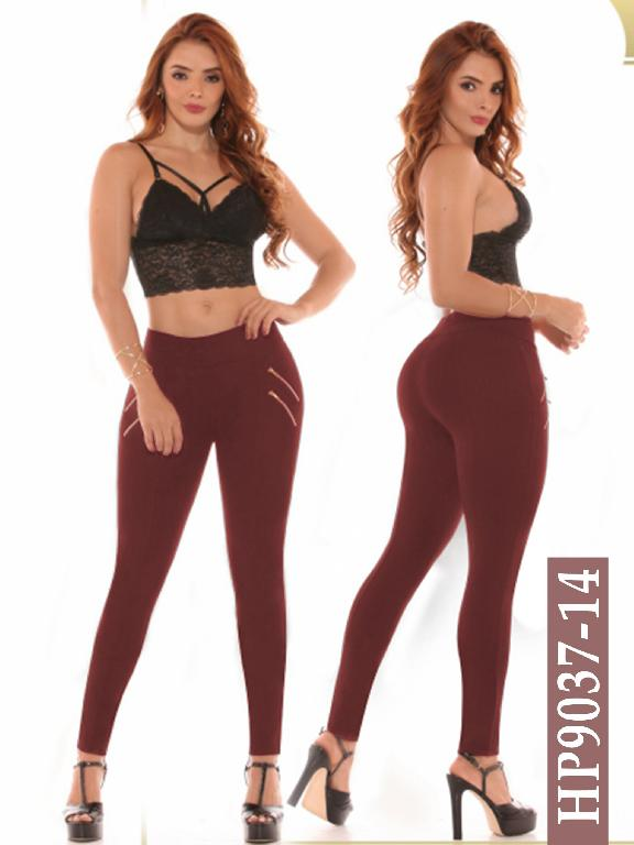 Leggings Azulle Fashion - Ref. 256 -HP9037-14 Vino Tinto