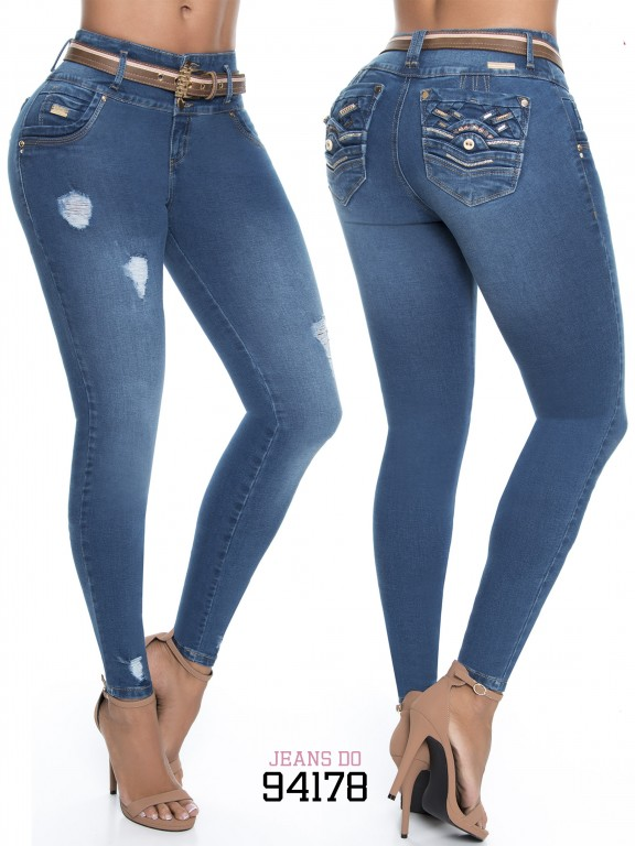 Jeans Colombiano - Ref. 248 -94178-D