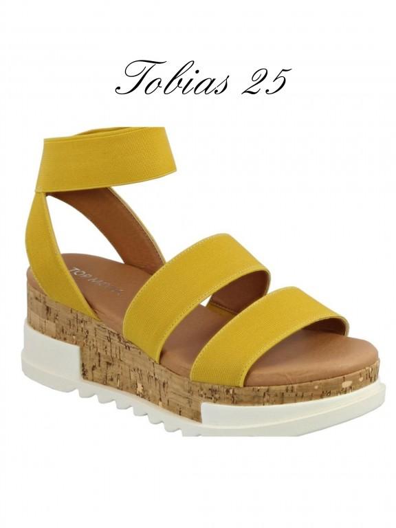 Plataforma Tobias-25 - Ref. 200 -TOBIAS-25 Mostaza