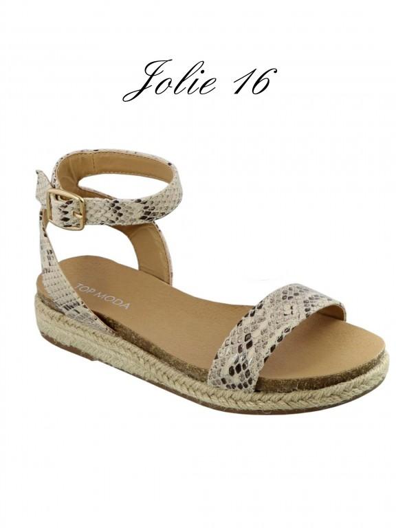 Sandalias Jolie-16 - Ref. 200 -JOLIE-16 Beige
