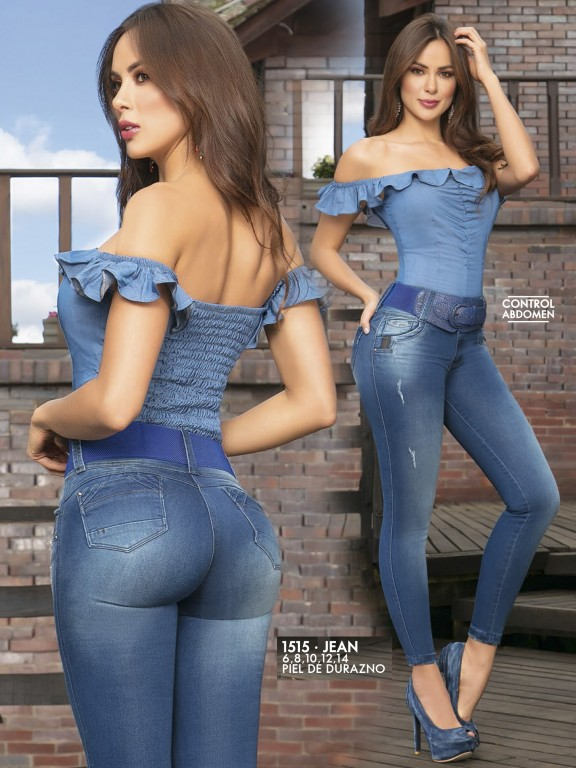 Jeans Levantacola Colombianos - Ref. 279 -1515