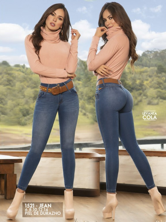 Jeans Levantacola Colombianos - Ref. 279 -1521