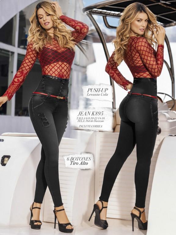 Colombian Butt lifting Jean - Ref. 119 -895K