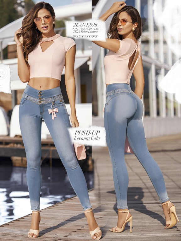 Colombian Butt lifting Jean - Ref. 119 -896K