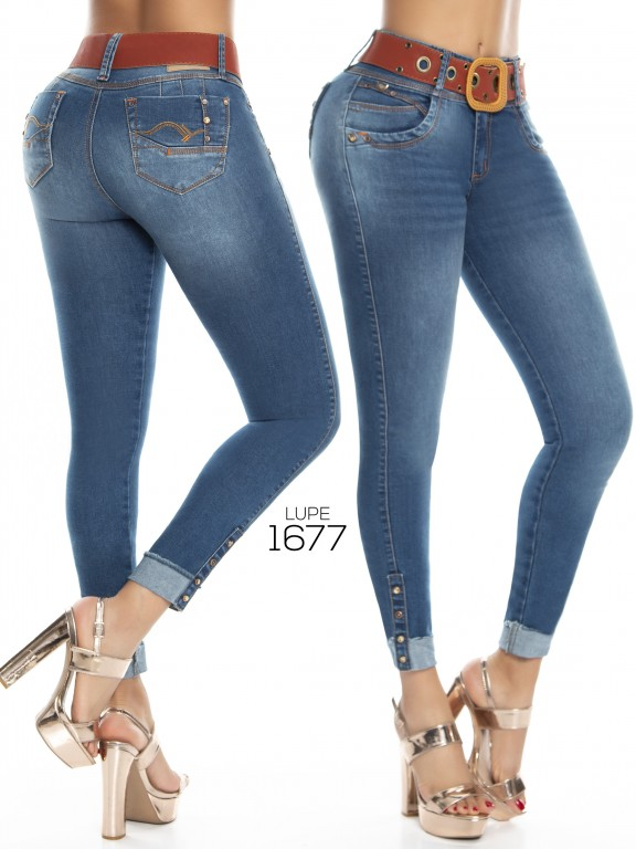 Jeans Lupe - Ref. 298 -1677 Jeans Lupe