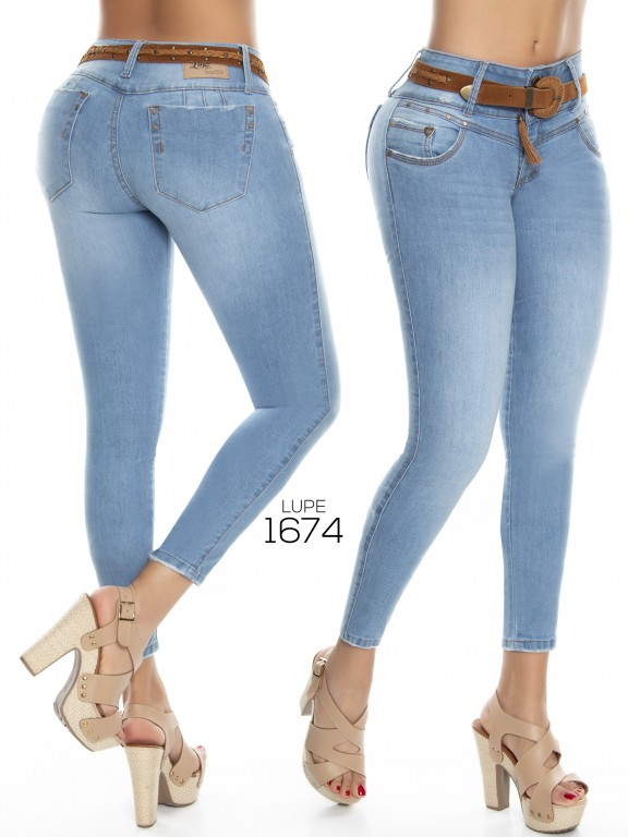 Jeans Lupe - Ref. 298 -1674 Jeans Lupe