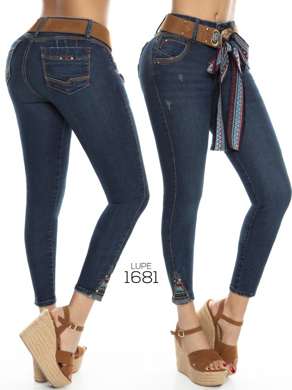 Jeans Lupe - Ref. 298 -1681 Jeans Lupe
