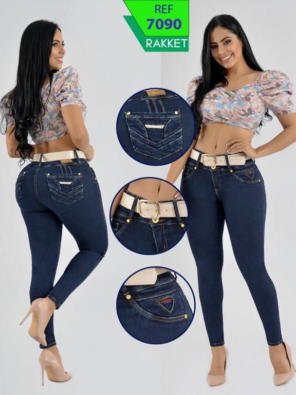 Jeans Levantacola Colombianos Rakket - Ref. 261 -7090 R