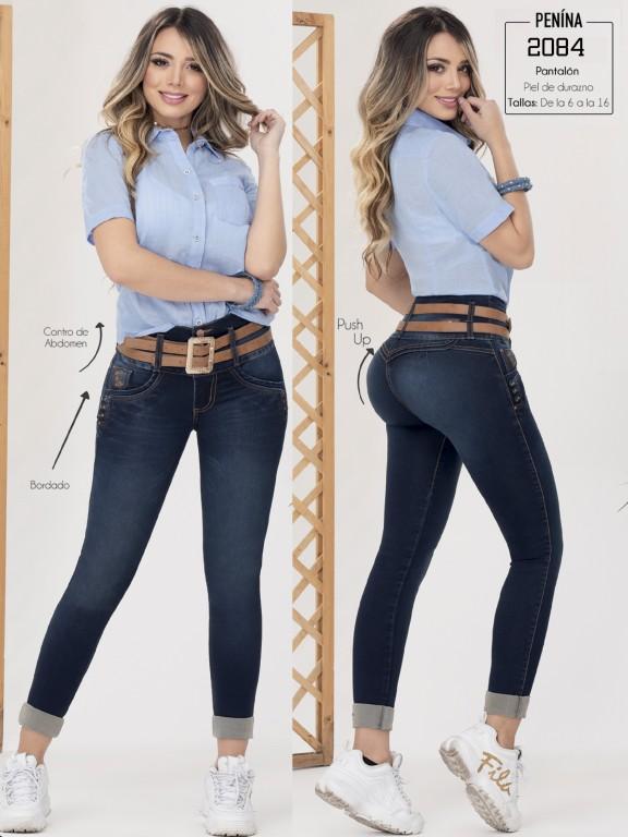 Jeans Colombianos Levantacola - Ref. 282 -2084