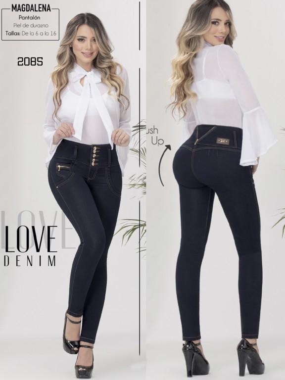 Jeans Colombianos Levantacola - Ref. 282 -2085