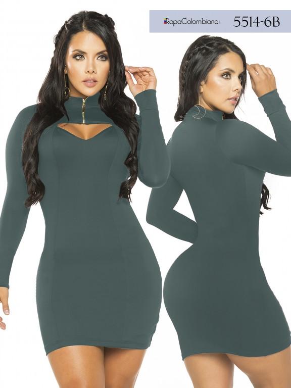 Colombian Fashion Dress - Ref. 119 -5514-6B