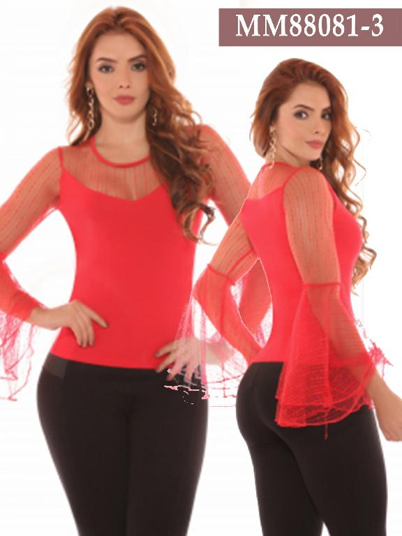 Azulle Fashion Blouse - Ref. 256 -MM88081-3 Rojo