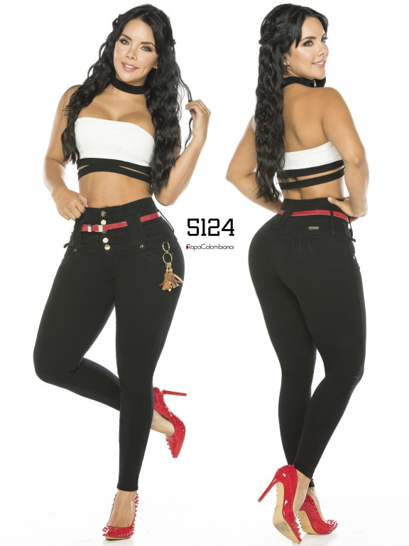 Colombian Butt lifting Jean - Ref. 119 -5124-S