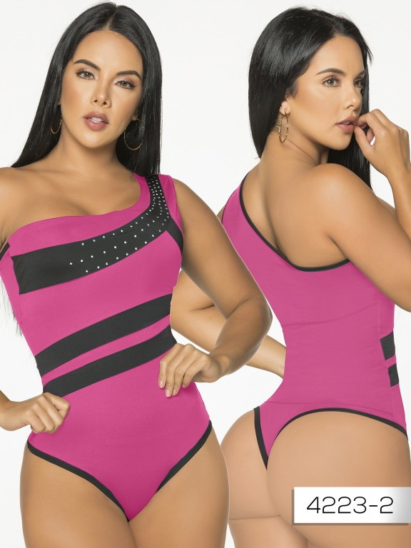 Body Reductor Colombiano Capellini - Ref. 114 -4223-2 Fucsia