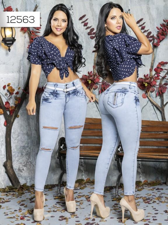 Jeans Levantacola Colombiano Tabbachi  - Ref. 101 -12563 T