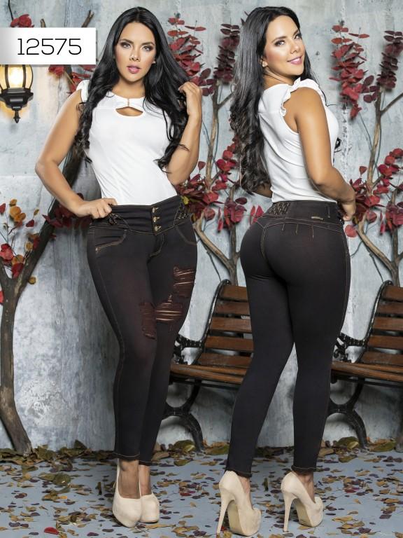 Jeans Levantacola Colombiano Tabbachi  - Ref. 101 -12575 T