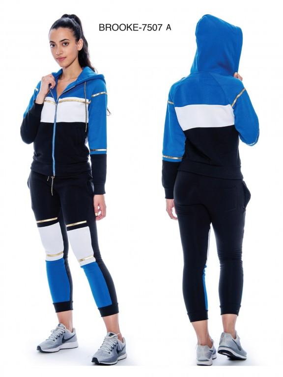 Deportivo Brooke-7507 - Ref. 200 -BROOKE-7507 Azul