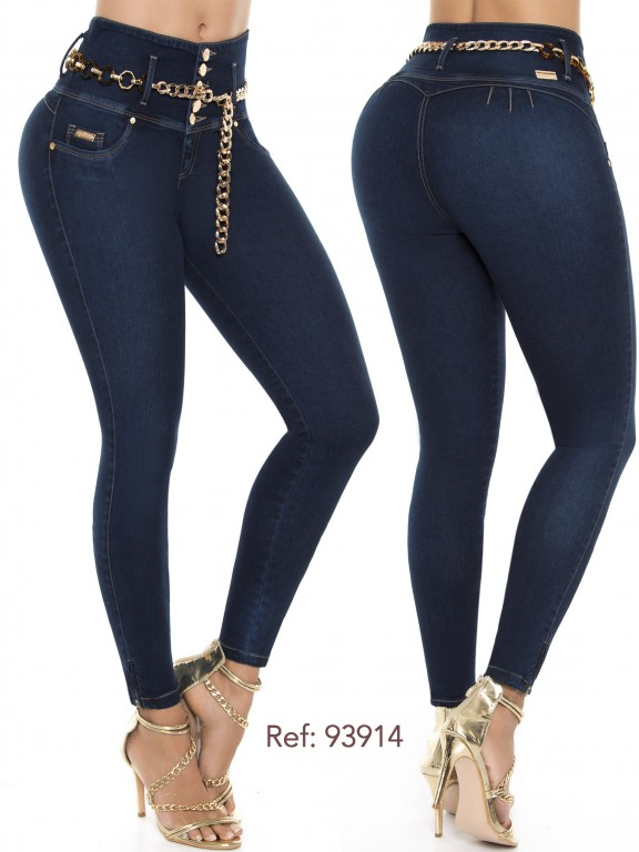 Jeans Levantacola Colombiano - Ref. 248 -93914-D