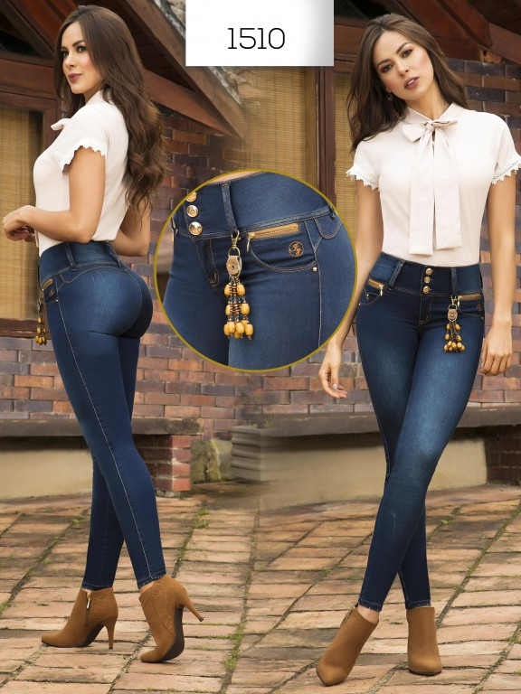 Jeans Levantacola Colombianos - Ref. 279 -1510 In You