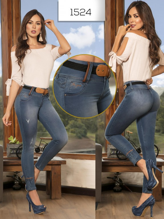 Jeans Levantacola Colombianos - Ref. 279 -1524 In You