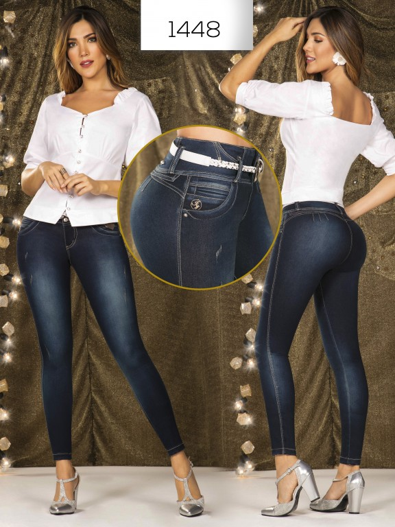 Jeans Levantacola Colombianos - Ref. 279 -1448 In You