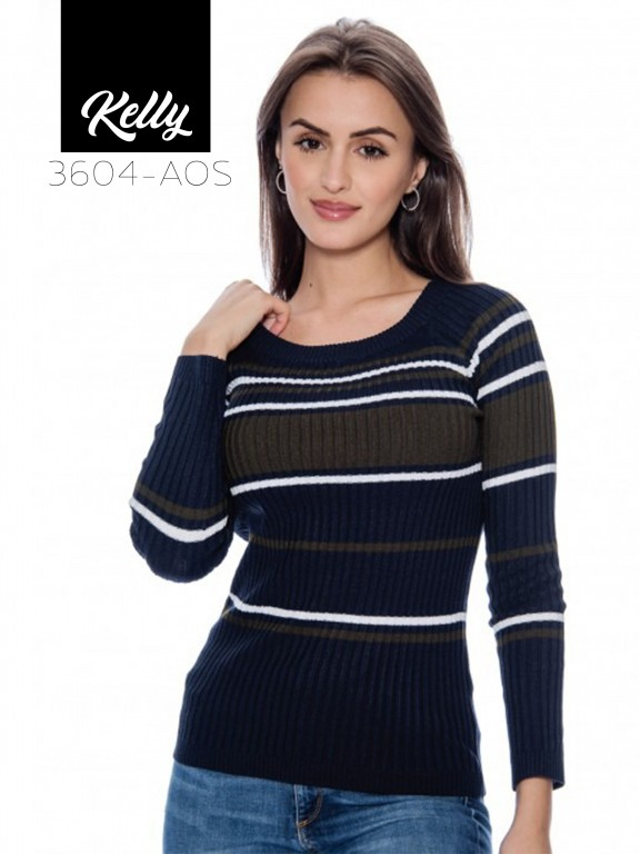 Sueter Kelly-3604 - Ref. 200 -KELLY-3604 Azul Oscuro