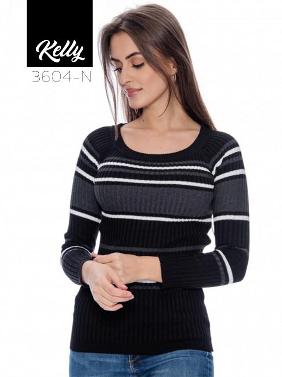 Sueter Kelly-3604 - Ref. 200 -KELLY-3604 Negro