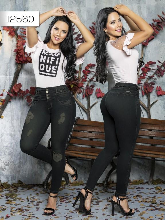 Jeans Levantacola Colombiano Tabbachi  - Ref. 101 -12560 T