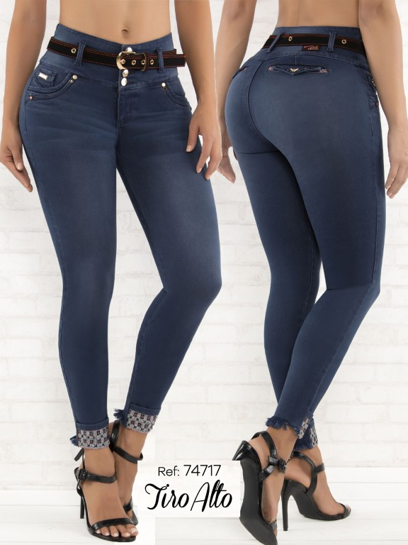 Jeans Levantacola Colombiano - Ref. 248 -74717-D