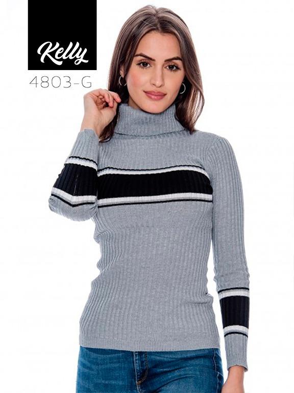 Sueter Kelly-4803 - Ref. 200 -KELLY-4803 Gris