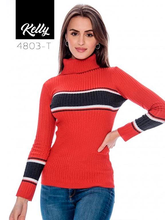 Sueter Kelly-4803 - Ref. 200 -KELLY-4803 Terracota