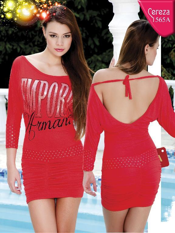 Vestido Moda Cereza - Ref. 111 -1565A