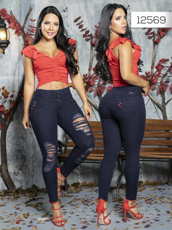 Jeans Levantacola Colombiano Tabbachi  - Ref. 101 -12569 T