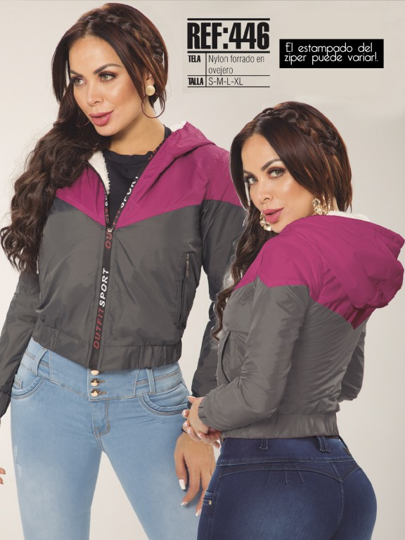 Chaqueta Moda Colombiana - Ref. 119 -446-FN