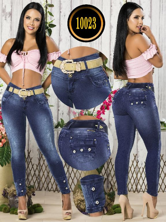 Colombian Butt lifting Jean - Ref. 101 -10023-T