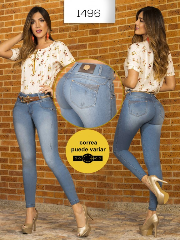 Jeans Levantacola Colombianos - Ref. 279 -1496 In You