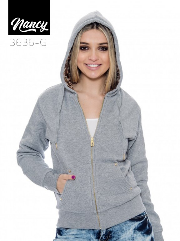 Chaqueta Nancy-3636 Grey - Ref. 200 -NANCY-3636 Grey
