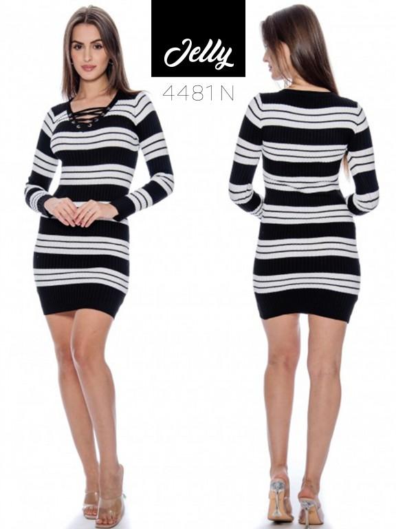 Vestido Jelly-4881 - Ref. 200 -JELLY-4881 Negro