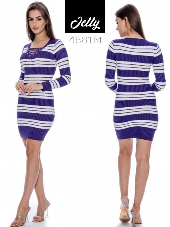 Vestido Jelly-4881 - Ref. 200 -JELLY-4881 Morado