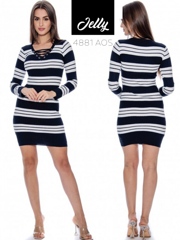 Vestido Jelly-4881 - Ref. 200 -JELLY-4881 Azul Oscuro