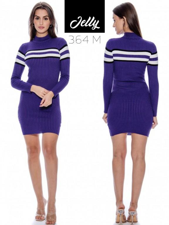 Vestido Jelly-364 - Ref. 200 -JELLY-364 Morado