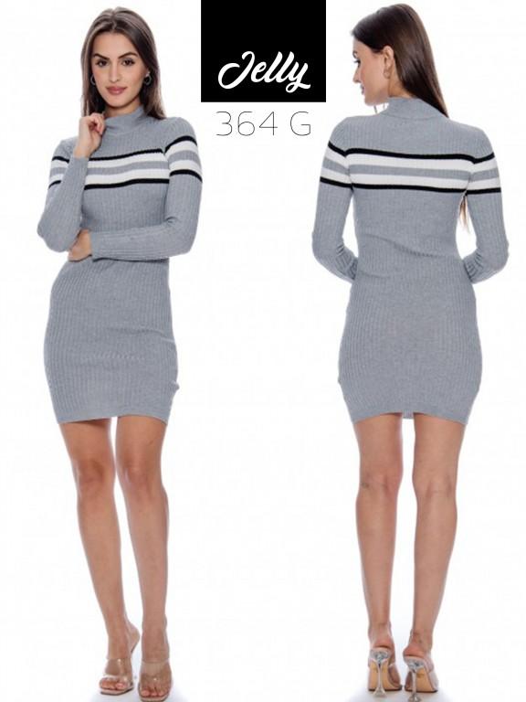 Vestido Jelly-364 - Ref. 200 -JELLY-364 Gris