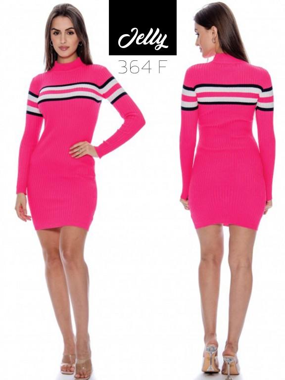 Vestido Jelly-364 - Ref. 200 -JELLY-364 Fucsia
