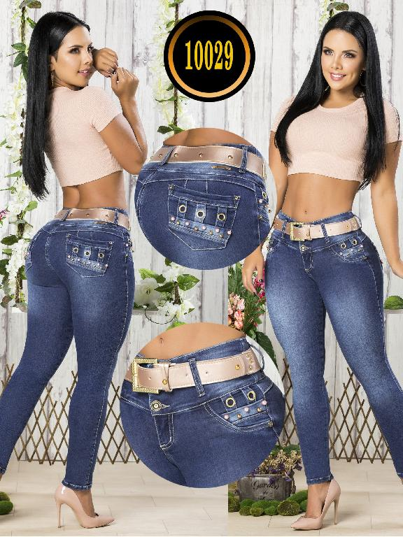 Colombian Butt lifting Jean - Ref. 101 -10029-T