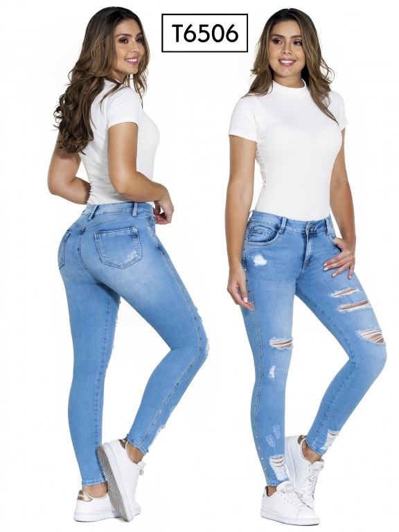 Jeans Colombianos Trucco's - Ref. 278 -6506