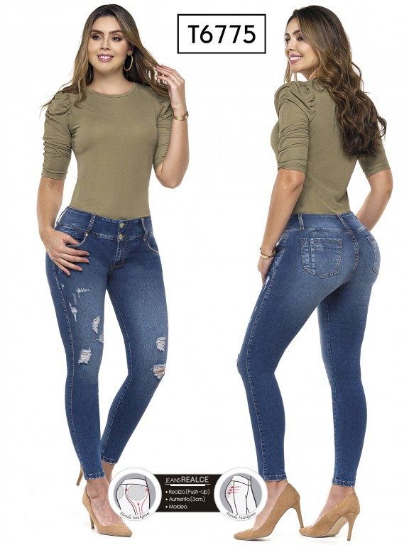 Jeans Colombianos Trucco's - Ref. 278 -6775
